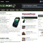 Eladó androidos weboldal reszponzív megjelenéssel: <u>AndroidPort</u>