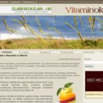 <u>Vitaminok.at</u> domain és weboldal
