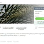<u>SexTube.hu</u> domain név eladó