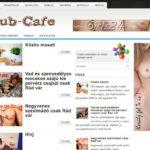 <u>Club-cafe.hu</u> domain név és weboldal