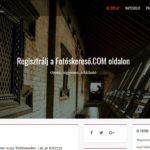 Eladó <u>Fotóskereső.com</u> weboldal
