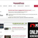 Eladó <u>domainpress.hu</u> weboldal + ajándék
