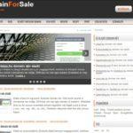 <u>DomainForSale</u> komplett weboldal eladó
