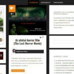 <u>Horrorfilm.hu</u> domain név és weboldal eladó