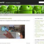 <u>Androidworld.hu</u> komplett weboldal eladó