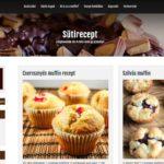 <u>Sütirecept.hu</u> kompletten weboldal eladó