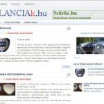 <u>Lanciak.hu</u> domain név és weboldal eladó